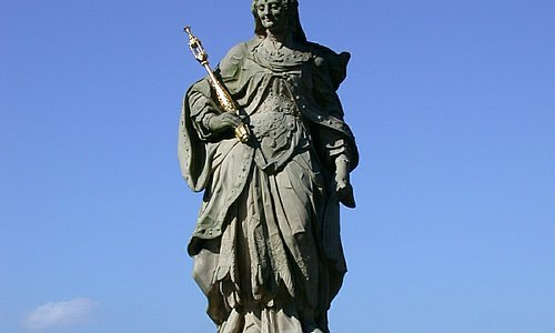 The holy Kunigunde - Patron of Bamberg