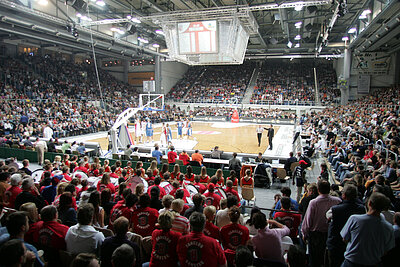 Brose Baskets Bamberg in the brose Arena